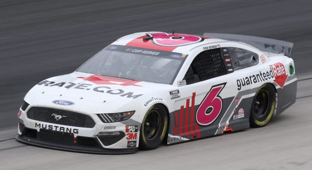 FORT WORTH, TEXAS - OCTOBER 28: Ryan Newman, driver of the #6 Guaranteed Rate Ford, drives during the NASCAR Cup Series Autotrader EchoPark Automotive 500 at Texas Motor Speedway on October 28, 2020 in Fort Worth, Texas. (Photo by Chris Graythen/Getty Images) | Getty Images