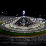 MARTINSVILLE, VIRGINIA - JUNE 10: Cars race during the NASCAR Cup Series Blue-Emu Maximum Pain Relief 500 at Martinsville Speedway on June 10, 2020 in Martinsville, Virginia. (Photo by Rob Carr/Getty Images) | Getty Images