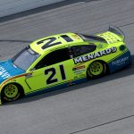 TALLADEGA, ALABAMA - OCTOBER 04: Matt DiBenedetto, driver of the #21 Menards/Tuscany Ford, drives during the NASCAR Cup Series YellaWood 500 at Talladega Superspeedway on October 04, 2020 in Talladega, Alabama. (Photo by Chris Graythen/Getty Images) | Getty Images