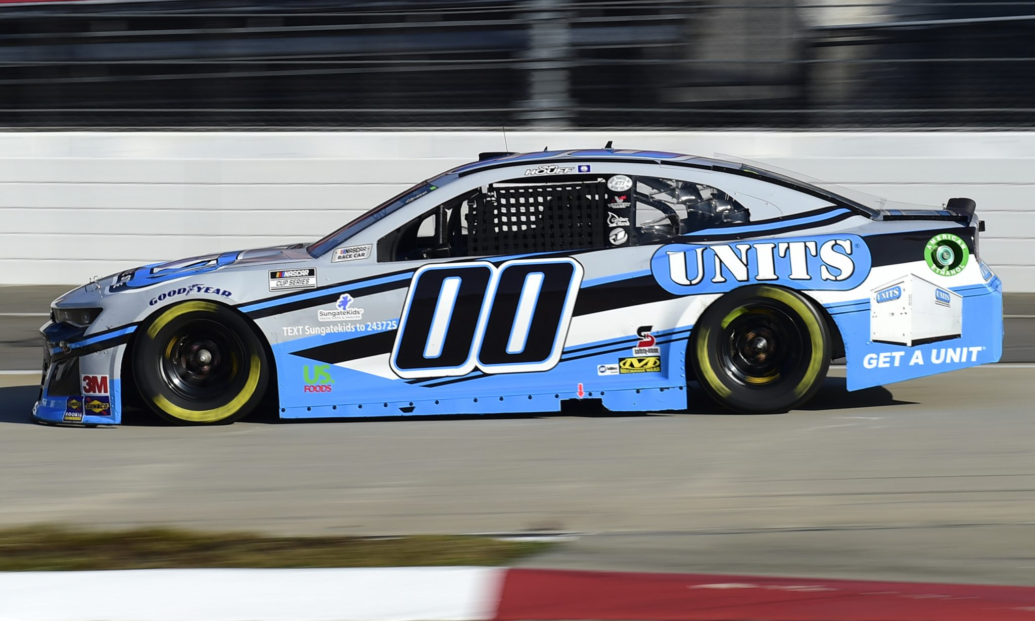 MARTINSVILLE, VIRGINIA - NOVEMBER 01: Quin Houff, driver of the #00 UNITS Chevrolet, drives during the NASCAR Cup Series Xfinity 500 at Martinsville Speedway on November 01, 2020 in Martinsville, Virginia. (Photo by Jared C. Tilton/Getty Images) | Getty Images