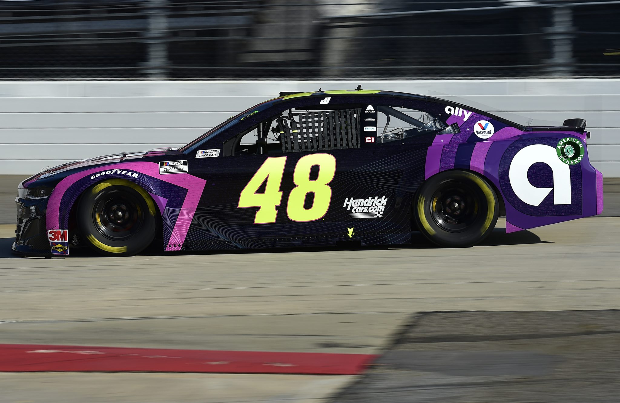 MARTINSVILLE, VIRGINIA - NOVEMBER 01: Jimmie Johnson, driver of the #48 Sign for Jimmie Chevrolet, drives during the NASCAR Cup Series Xfinity 500 at Martinsville Speedway on November 01, 2020 in Martinsville, Virginia. (Photo by Jared C. Tilton/Getty Images) | Getty Images