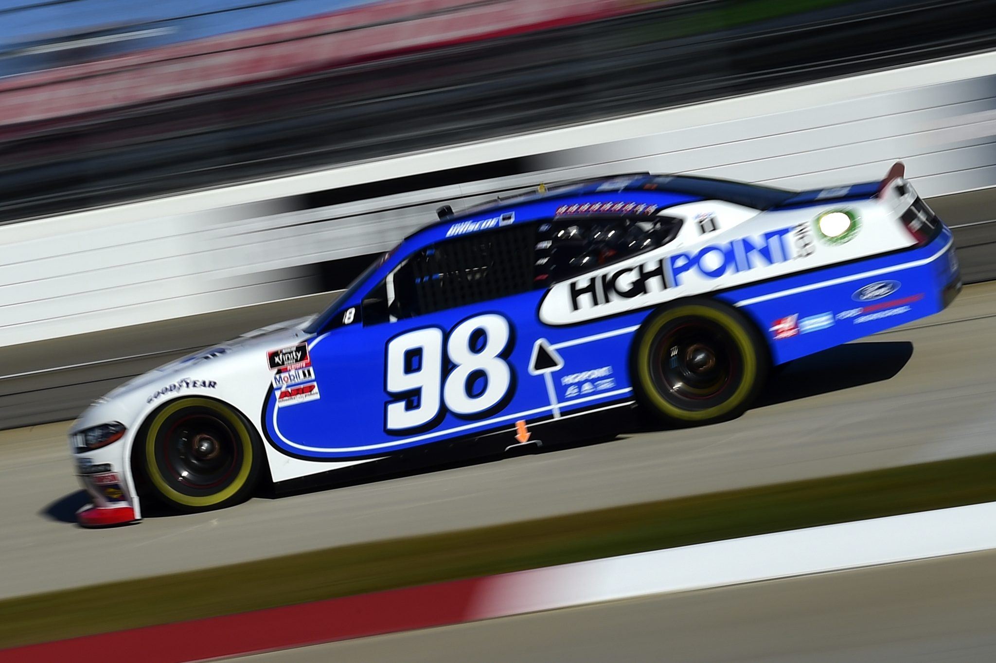 MARTINSVILLE, VIRGINIA - OCTOBER 31: Chase Briscoe, driver of the #98 HighPoint.com Ford, drives during the NASCAR Xfinity Series Draft Top 250 at Martinsville Speedway on October 31, 2020 in Martinsville, Virginia. (Photo by Jared C. Tilton/Getty Images) | Getty Images