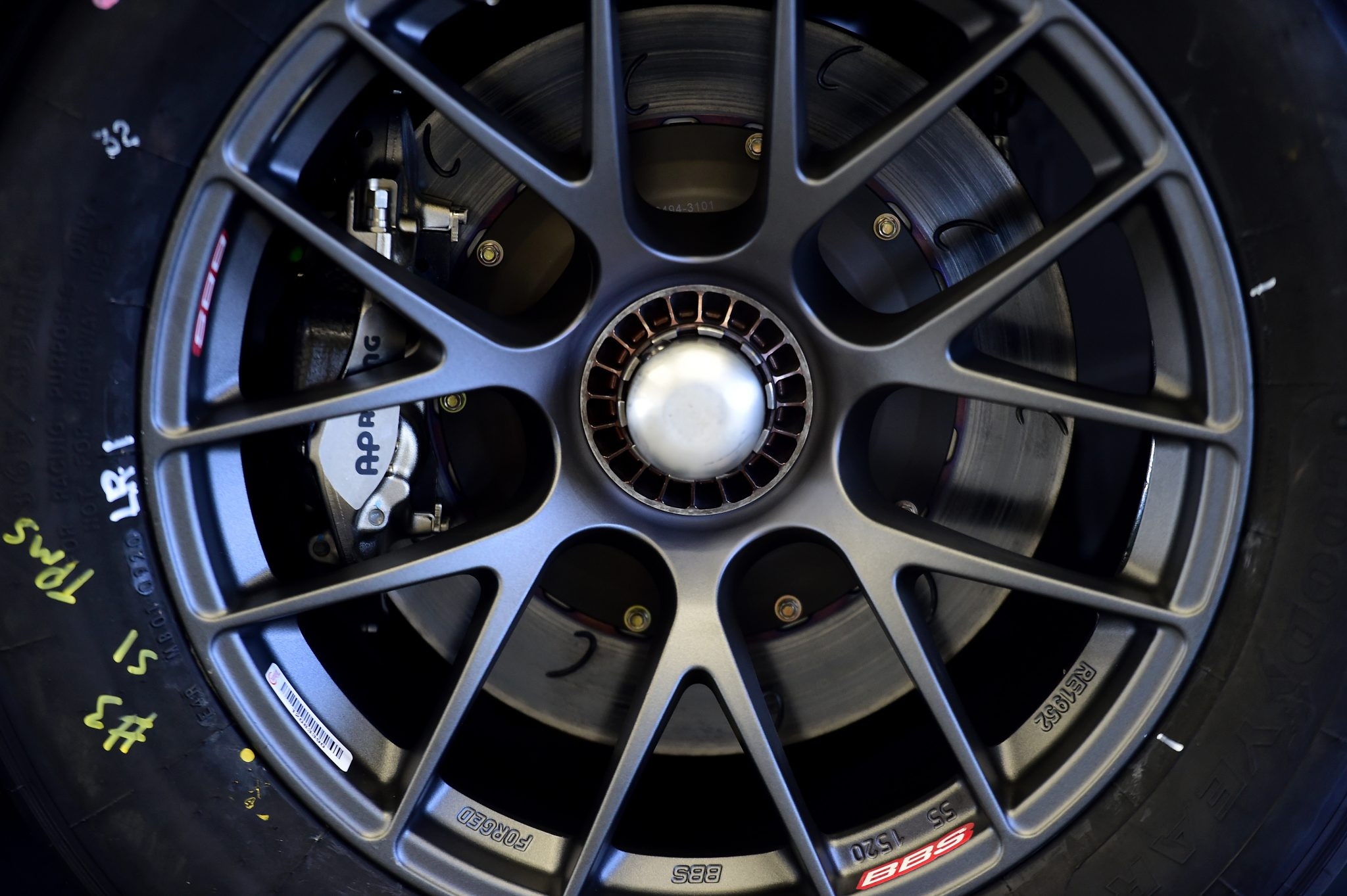 CONCORD, NORTH CAROLINA - NOVEMBER 16: A detailed view of the wheels used during the NASCAR Cup Series test at Charlotte Motor Speedway on November 16, 2020 in Concord, North Carolina. (Photo by Jared C. Tilton/Getty Images) | Getty Images