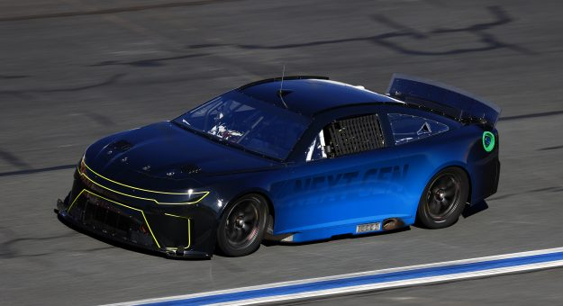 CONCORD, NORTH CAROLINA - NOVEMBER 18: Kurt Busch drives the NASCAR Next Gen car during the NASCAR Cup Series test at Charlotte Motor Speedway on November 18, 2020 in Concord, North Carolina. (Photo by Jared C. Tilton/Getty Images) | Getty Images