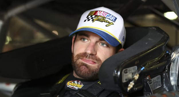 FONTANA, CALIFORNIA - FEBRUARY 28: Corey LaJoie, driver of the #32 Pala Casino Ford, prepares for practice at Auto Club Speedway on February 28, 2020 in Fontana, California. (Photo by Meg Oliphant/Getty Images) | Getty Images