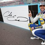 AVONDALE, ARIZONA - NOVEMBER 08: Chase Elliott, driver of the #9 NAPA Auto Parts Chevrolet, celebrats after winning the NASCAR Cup Series Season Finale 500 and the 2020 NASCAR Cup Series Championship at Phoenix Raceway on November 08, 2020 in Avondale, Arizona. (Photo by Chris Graythen/Getty Images) | Getty Images