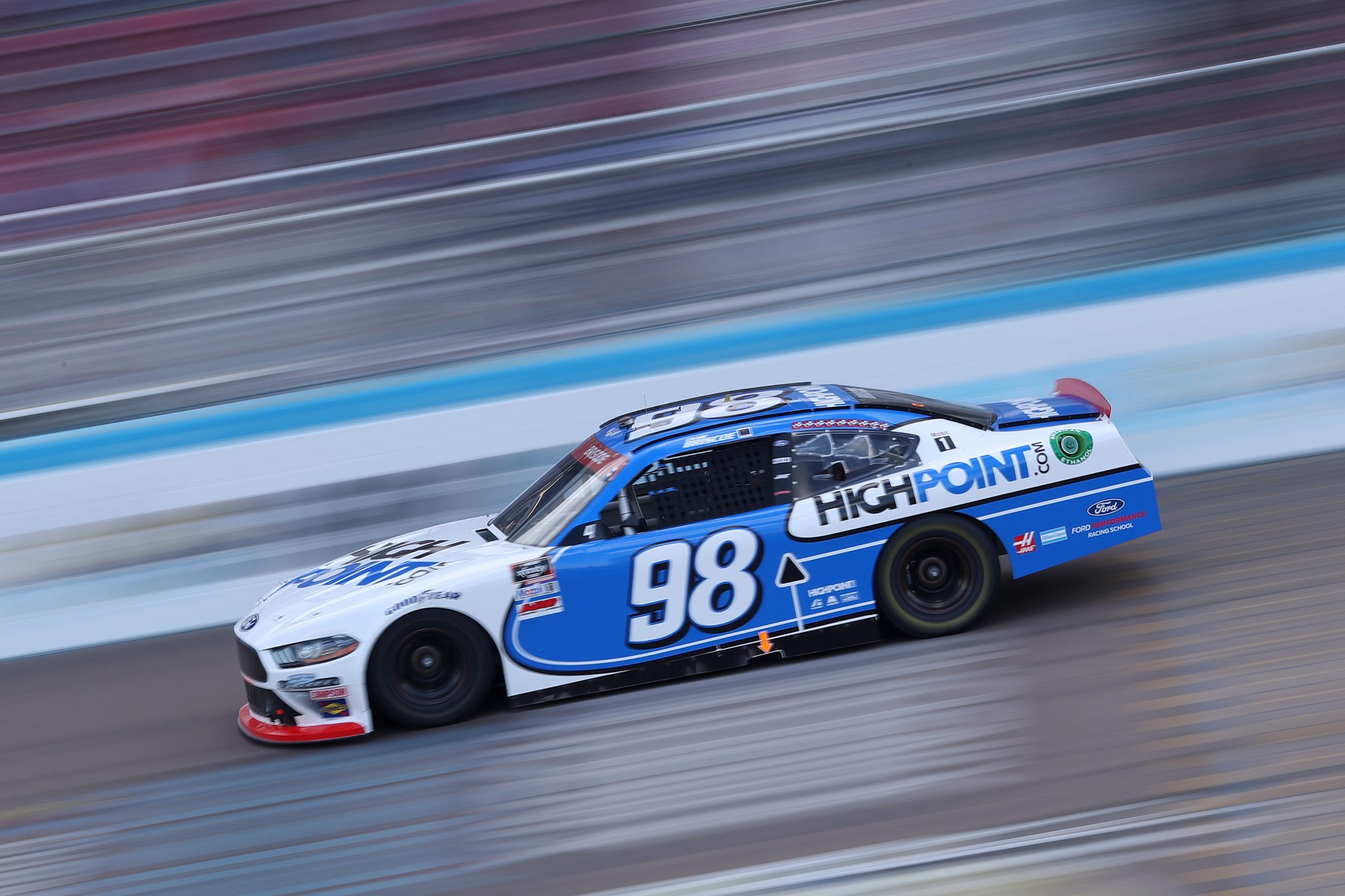 AVONDALE, ARIZONA - NOVEMBER 07: Chase Briscoe, driver of the #98 HighPoint.com Ford, drives during the NASCAR Xfinity Series Desert Diamond Casino West Valley 200 at Phoenix Raceway on November 07, 2020 in Avondale, Arizona. (Photo by Chris Graythen/Getty Images) | Getty Images