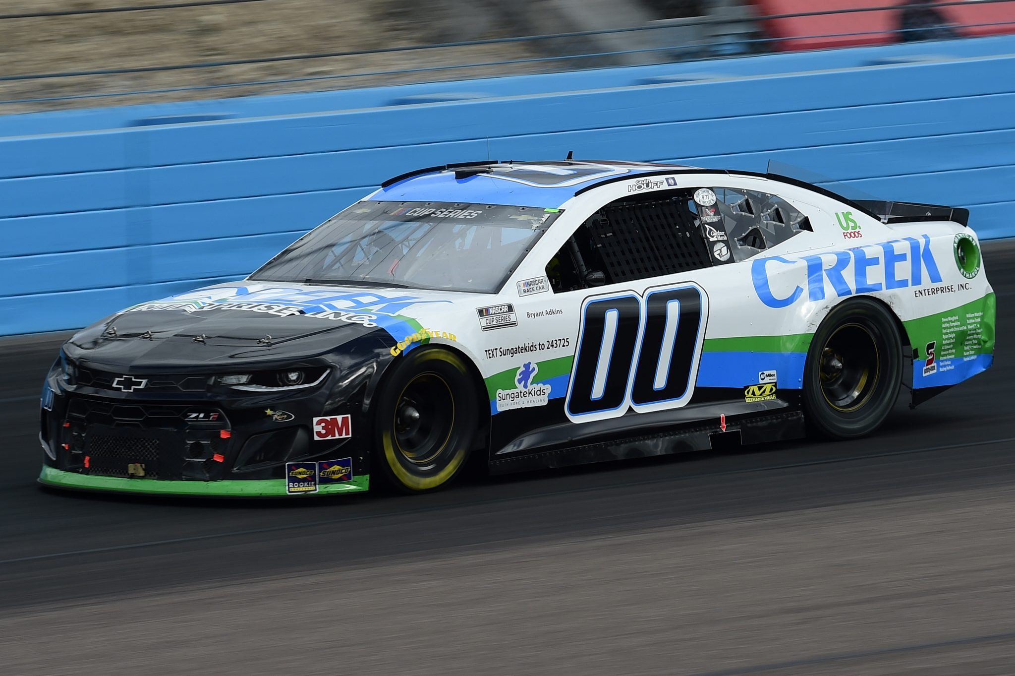 AVONDALE, ARIZONA - NOVEMBER 08: Quin Houff, driver of the #00 CREEK Enterprises Inc. Chevrolet, drives during the NASCAR Cup Series Season Finale 500 at Phoenix Raceway on November 08, 2020 in Avondale, Arizona. (Photo by Jared C. Tilton/Getty Images) | Getty Images