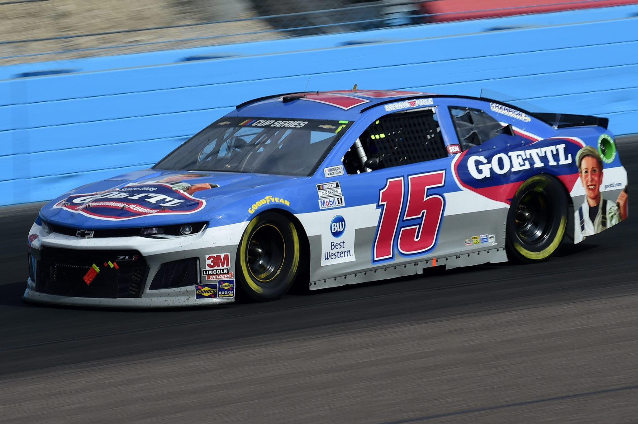 AVONDALE, ARIZONA - NOVEMBER 08: Brennan Poole, driver of the #15 Chevrolet, drives during the NASCAR Cup Series Season Finale 500 at Phoenix Raceway on November 08, 2020 in Avondale, Arizona. (Photo by Jared C. Tilton/Getty Images) | Getty Images