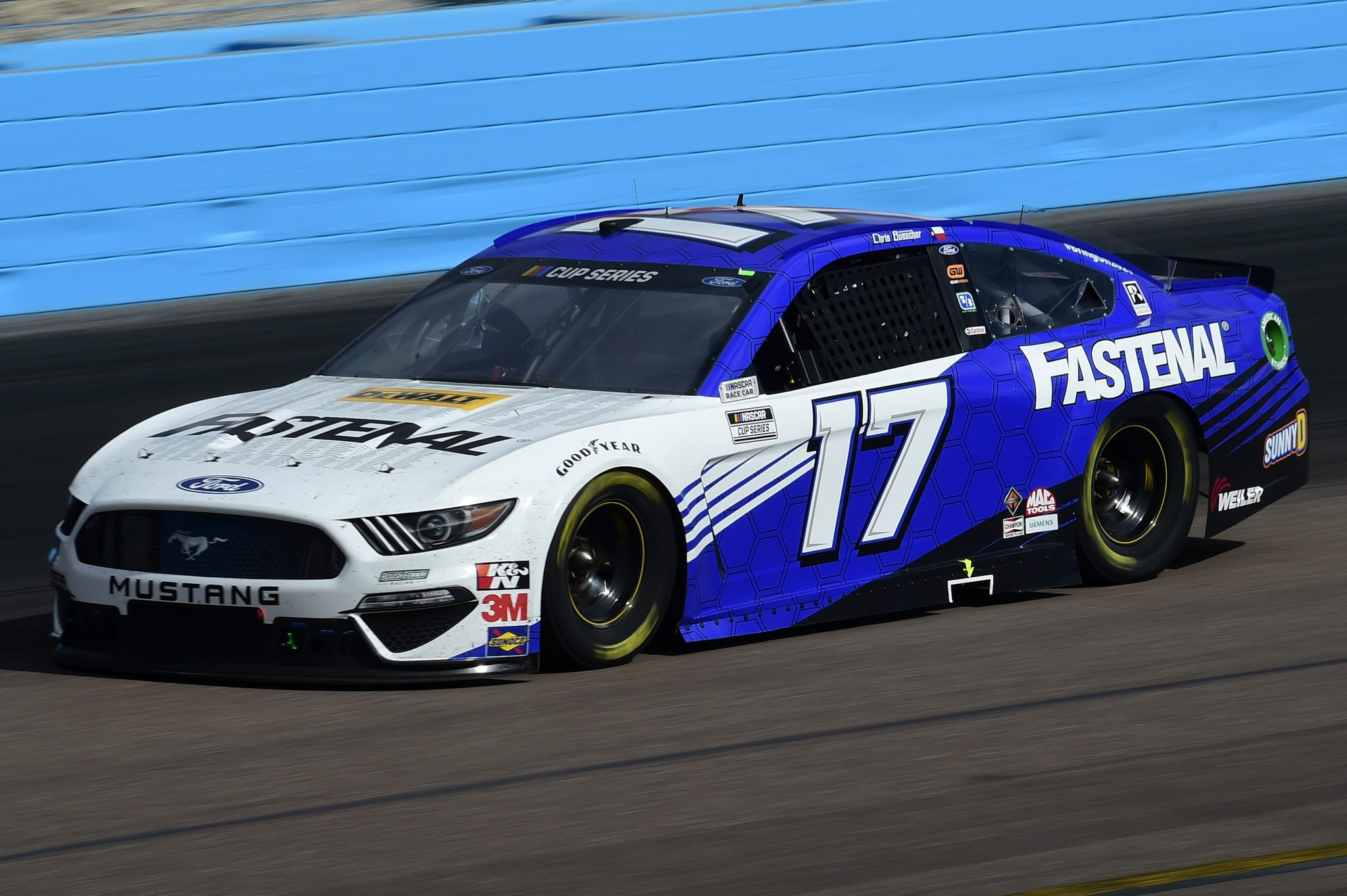 AVONDALE, ARIZONA - NOVEMBER 08: Chris Buescher, driver of the #17 Fastenal Ford, drives during the NASCAR Cup Series Season Finale 500 at Phoenix Raceway on November 08, 2020 in Avondale, Arizona. (Photo by Jared C. Tilton/Getty Images) | Getty Images