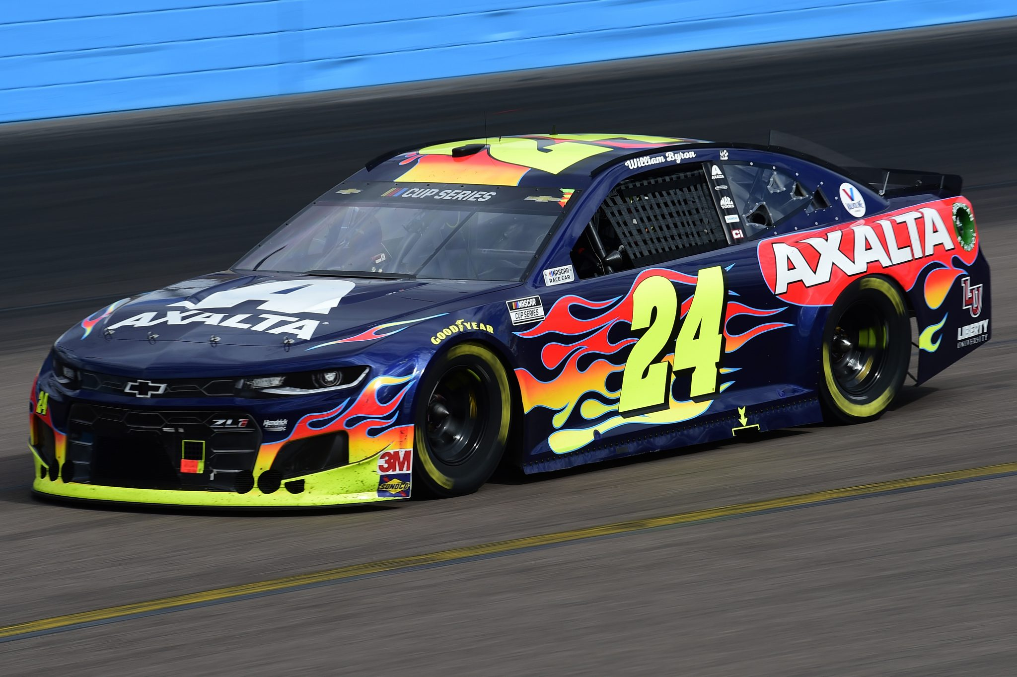 AVONDALE, ARIZONA - NOVEMBER 08: William Byron, driver of the #24 Axalta Chevrolet, drives during the NASCAR Cup Series Season Finale 500 at Phoenix Raceway on November 08, 2020 in Avondale, Arizona. (Photo by Jared C. Tilton/Getty Images) | Getty Images