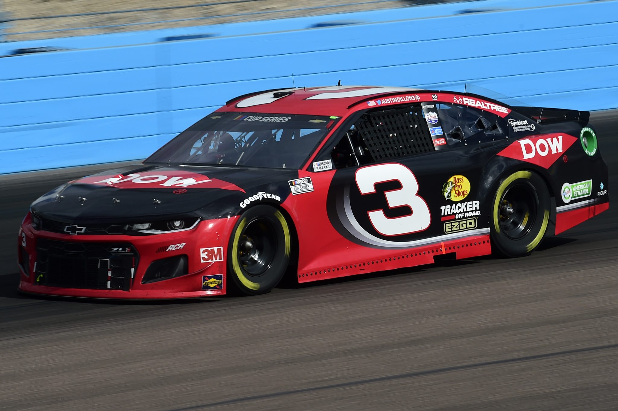 AVONDALE, ARIZONA - NOVEMBER 08: Austin Dillon, driver of the #3 DOW Chevrolet, drives during the NASCAR Cup Series Season Finale 500 at Phoenix Raceway on November 08, 2020 in Avondale, Arizona. (Photo by Jared C. Tilton/Getty Images) | Getty Images