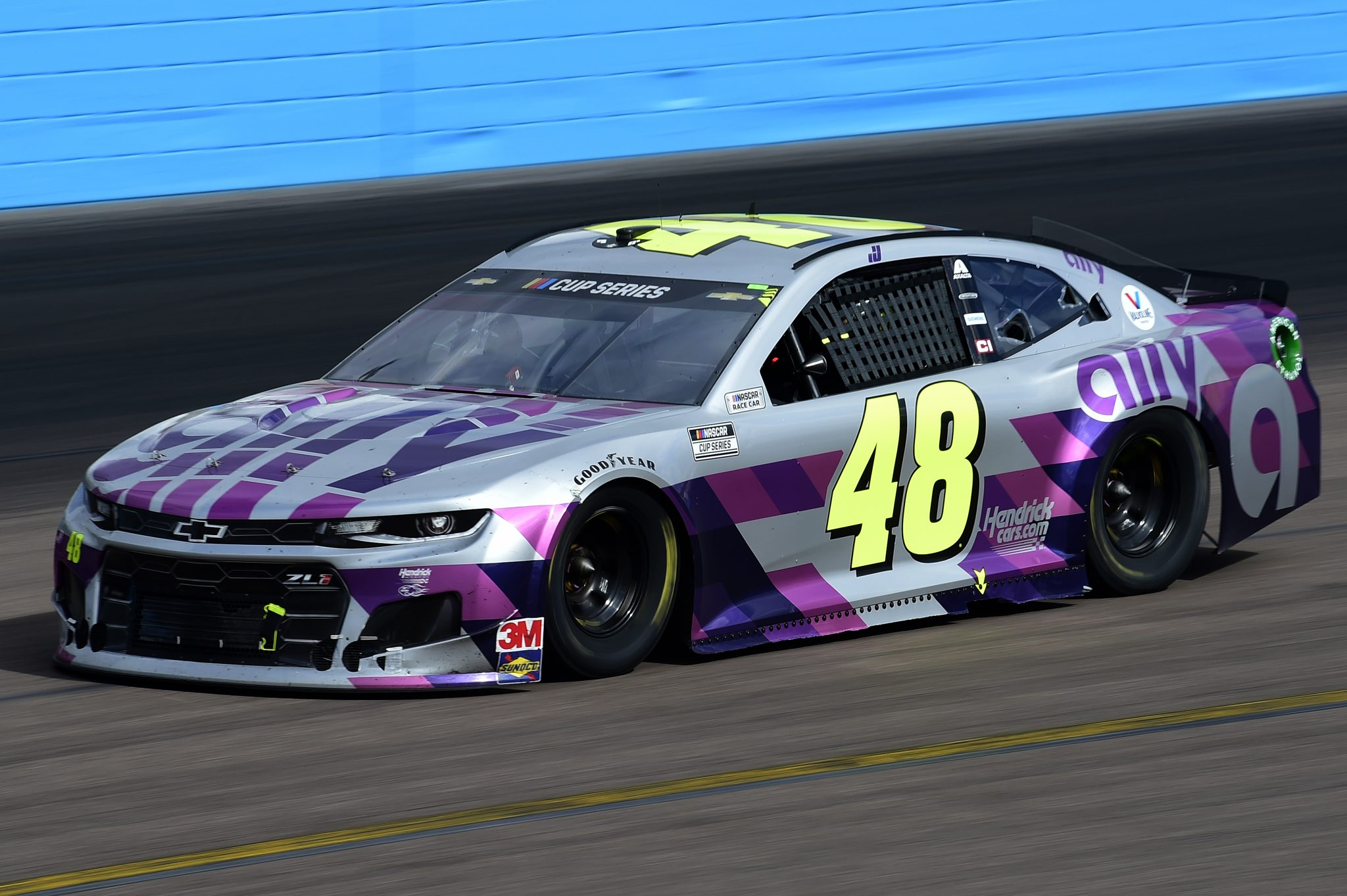 AVONDALE, ARIZONA - NOVEMBER 08: Jimmie Johnson, driver of the #48 Ally Chevrolet, drives during the NASCAR Cup Series Season Finale 500 at Phoenix Raceway on November 08, 2020 in Avondale, Arizona. (Photo by Jared C. Tilton/Getty Images) | Getty Images