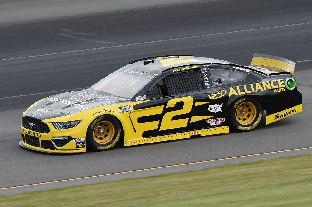 LONG POND, PENNSYLVANIA - JUNE 27: Brad Keselowski, driver of the #2 Western Star/Alliance Parts Ford, drives during the NASCAR Cup Series Pocono Organics 325 in partnership with Rodale Institute at Pocono Raceway on June 27, 2020 in Long Pond, Pennsylvania. (Photo by Jared C. Tilton/Getty Images) | Getty Images