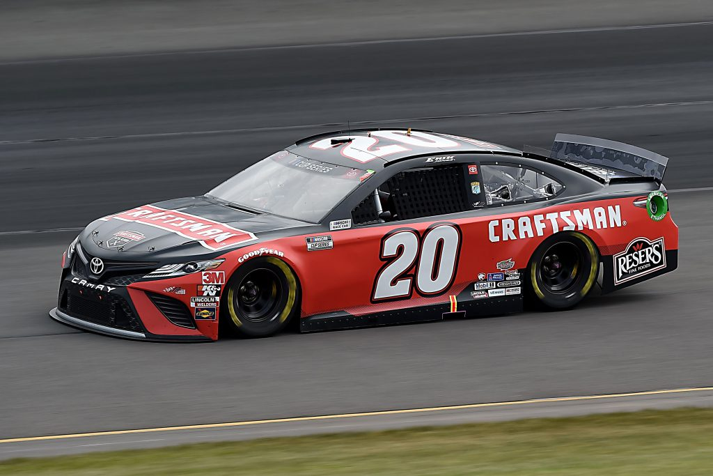 LONG POND, PENNSYLVANIA - JUNE 27: Erik Jones, driver of the #20 Craftsman Toyota, drives during the NASCAR Cup Series Pocono Organics 325 in partnership with Rodale Institute at Pocono Raceway on June 27, 2020 in Long Pond, Pennsylvania. (Photo by Jared C. Tilton/Getty Images) | Getty Images