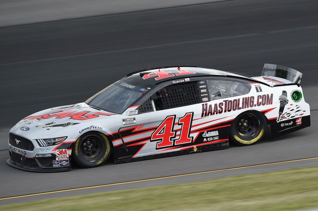 LONG POND, PENNSYLVANIA - JUNE 27: Cole Custer, driver of the #41 HaasTooling.com Ford, drives during the NASCAR Cup Series Pocono Organics 325 in partnership with Rodale Institute at Pocono Raceway on June 27, 2020 in Long Pond, Pennsylvania. (Photo by Jared C. Tilton/Getty Images) | Getty Images