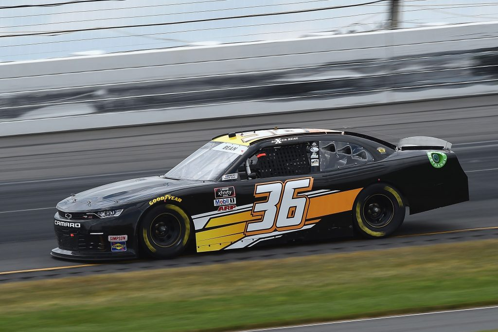 LONG POND, PENNSYLVANIA - JUNE 28: Dexter Bean, driver of the #36 Chevrolet, drives during the NASCAR Xfinity Series Pocono Green 225 Recycled by J.P. Mascaro & Sons at Pocono Raceway on June 28, 2020 in Long Pond, Pennsylvania. (Photo by Jared C. Tilton/Getty Images) | Getty Images