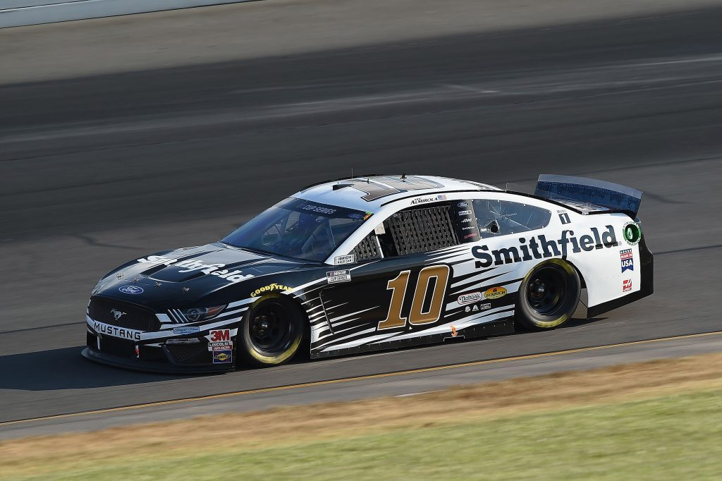 LONG POND, PENNSYLVANIA - JUNE 28: Aric Almirola, driver of the #10 Smithfield Ford, during the NASCAR Cup Series Pocono 350 at Pocono Raceway on June 28, 2020 in Long Pond, Pennsylvania. (Photo by Jared C. Tilton/Getty Images) | Getty Images