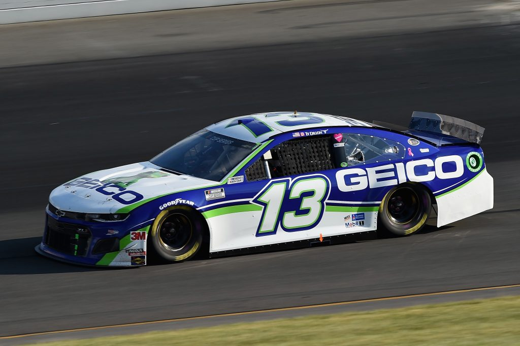 LONG POND, PENNSYLVANIA - JUNE 28: Ty Dillon, driver of the #13 GEICO Chevrolet, during the NASCAR Cup Series Pocono 350 at Pocono Raceway on June 28, 2020 in Long Pond, Pennsylvania. (Photo by Jared C. Tilton/Getty Images) | Getty Images