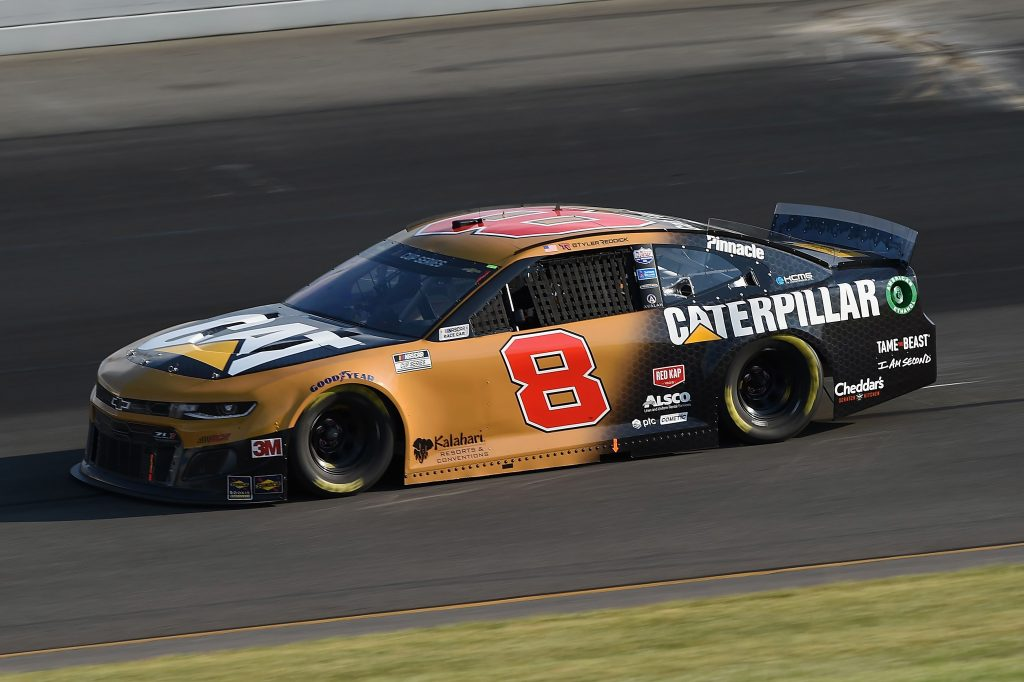 LONG POND, PENNSYLVANIA - JUNE 28: Tyler Reddick, driver of the #8 Caterpillar Chevrolet, during the NASCAR Cup Series Pocono 350 at Pocono Raceway on June 28, 2020 in Long Pond, Pennsylvania. (Photo by Jared C. Tilton/Getty Images) | Getty Images