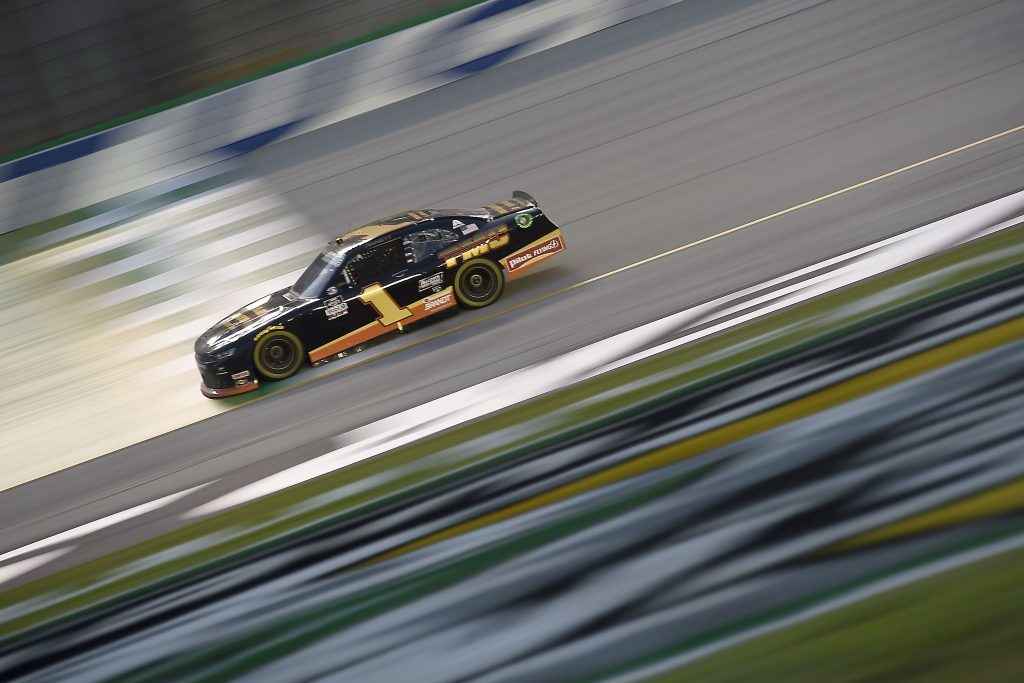 , KENTUCKY - JULY 09: Michael Annett, driver of the #1 TMC Chevrolet, drives during the NASCAR Xfinity Series Shady Rays 200 at Kentucky Speedway on July 09, 2020 in Sparta, Kentucky. (Photo by Jared C. Tilton/Getty Images) | Getty Images
