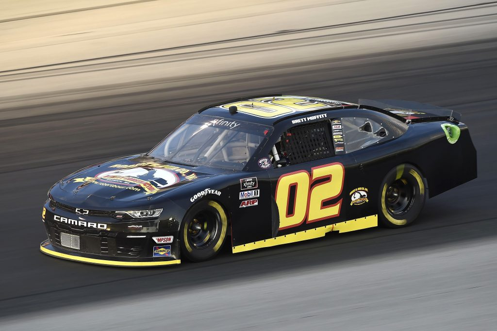 SPARTA, KENTUCKY - JULY 10: Brett Moffitt, driver of the #02 Robert B Our Co Inc Chevrolet, drives during the NASCAR Xfinity Series Alsco 300 at Kentucky Speedway on July 10, 2020 in Sparta, Kentucky. (Photo by Jared C. Tilton/Getty Images) | Getty Images