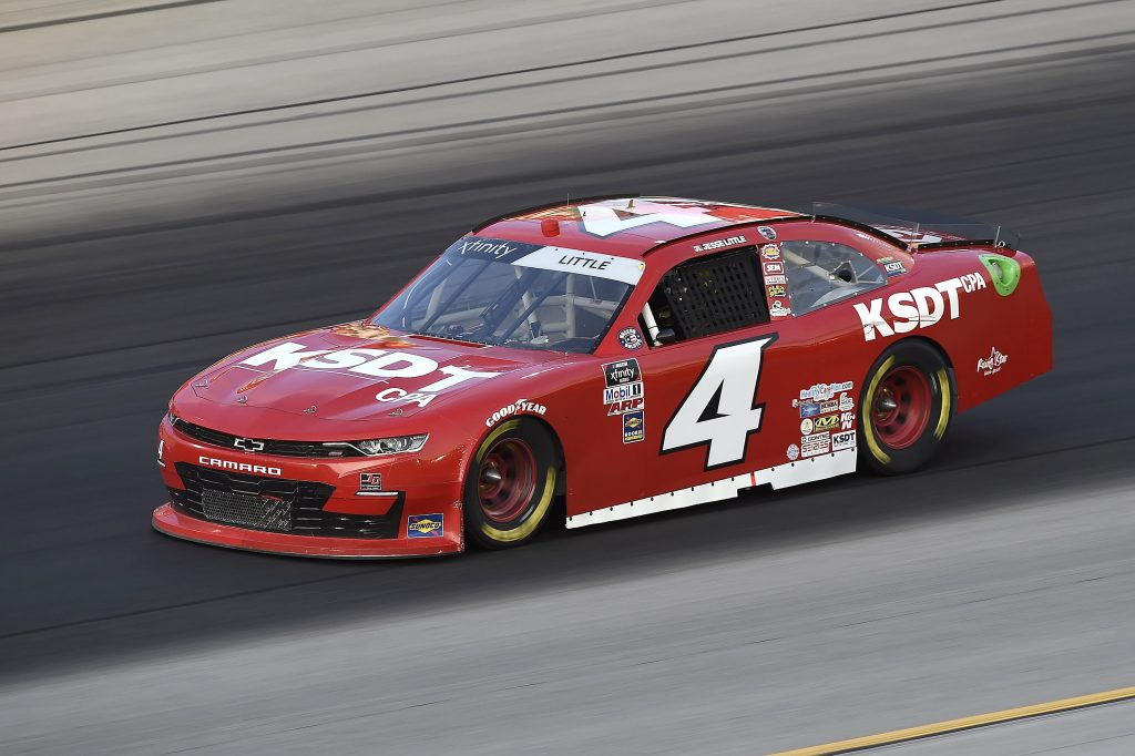 SPARTA, KENTUCKY - JULY 10: Jesse Little, driver of the #4 TeamJDMotorsports.com Chevrolet, drives during the NASCAR Xfinity Series Alsco 300 at Kentucky Speedway on July 10, 2020 in Sparta, Kentucky. (Photo by Jared C. Tilton/Getty Images)   Getty Images