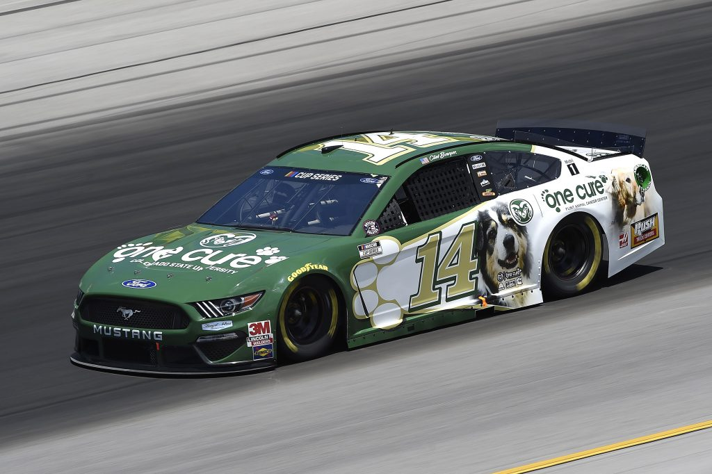 SPARTA, KENTUCKY - JULY 12: Clint Bowyer, driver of the #14 One Cure Ford, drives during the NASCAR Cup Series Quaker State 400 Presented by Walmart at Kentucky Speedway on July 12, 2020 in Sparta, Kentucky. (Photo by Jared C. Tilton/Getty Images) | Getty Images