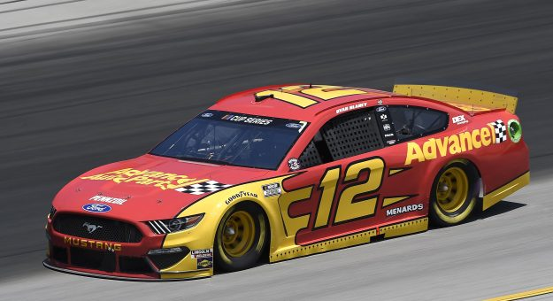 SPARTA, KENTUCKY - JULY 12: Ryan Blaney, driver of the #12 Advance Auto Parts Ford, drives during the NASCAR Cup Series Quaker State 400 Presented by Walmart at Kentucky Speedway on July 12, 2020 in Sparta, Kentucky. (Photo by Jared C. Tilton/Getty Images) | Getty Images