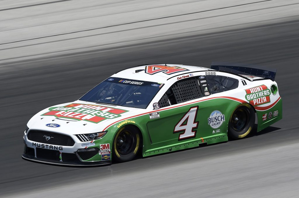 SPARTA, KENTUCKY - JULY 12: Kevin Harvick, driver of the #4 Hunt Brothers Pizza Ford, drives during the NASCAR Cup Series Quaker State 400 Presented by Walmart at Kentucky Speedway on July 12, 2020 in Sparta, Kentucky. (Photo by Jared C. Tilton/Getty Images) | Getty Images