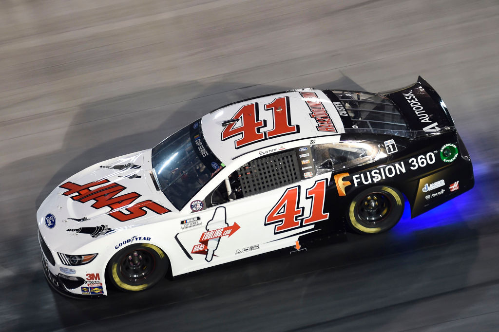 BRISTOL, TENNESSEE - JULY 15: Cole Custer, driver of the #41 HaasTooling.com/Fusion 360 Ford, drives during the NASCAR Cup Series All-Star Race at Bristol Motor Speedway on July 15, 2020 in Bristol, Tennessee. (Photo by Jared C. Tilton/Getty Images) | Getty Images