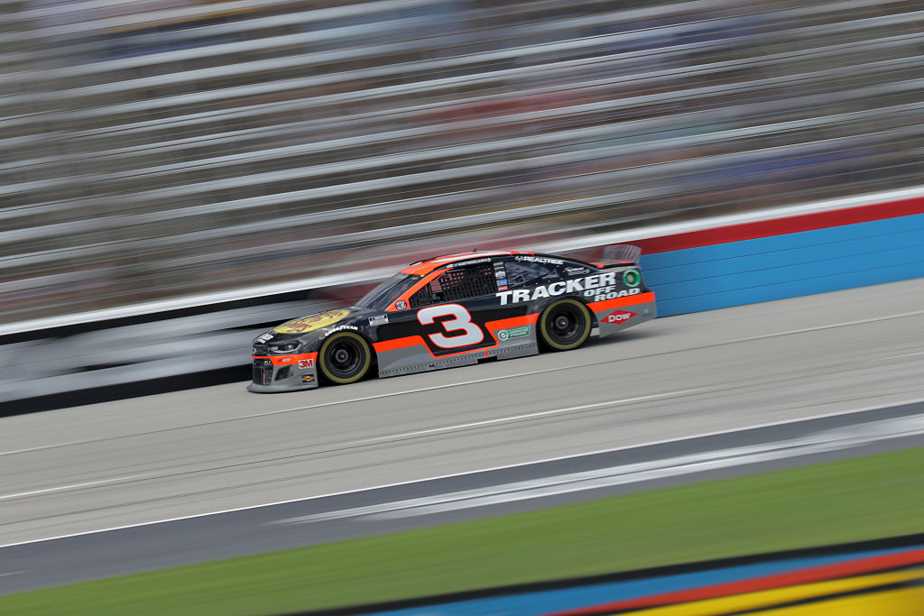 FORT WORTH, TEXAS - JULY 19: Austin Dillon, driver of the #3 Bass Pro Shops Chevrolet, races during the NASCAR Cup Series O'Reilly Auto Parts 500 at Texas Motor Speedway on July 19, 2020 in Fort Worth, Texas. (Photo by Chris Graythen/Getty Images) | Getty Images