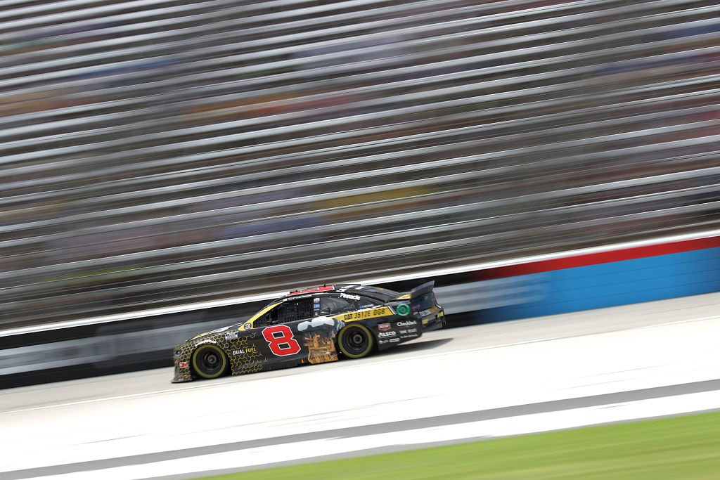 FORT WORTH, TEXAS - JULY 19: Tyler Reddick, driver of the #8 Cat Oil & Gas Chevrolet, races during the NASCAR Cup Series O'Reilly Auto Parts 500 at Texas Motor Speedway on July 19, 2020 in Fort Worth, Texas. (Photo by Chris Graythen/Getty Images) | Getty Images