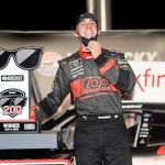 SPARTA, KENTUCKY - JULY 09: Austin Cindric, driver of the #22 Snap-On Ford, celebrates in Victory Lane after winning the NASCAR Xfinity Series Shady Rays 200 at Kentucky Speedway on July 09, 2020 in Sparta, Kentucky. (Photo by Jared C. Tilton/Getty Images) | Getty Images