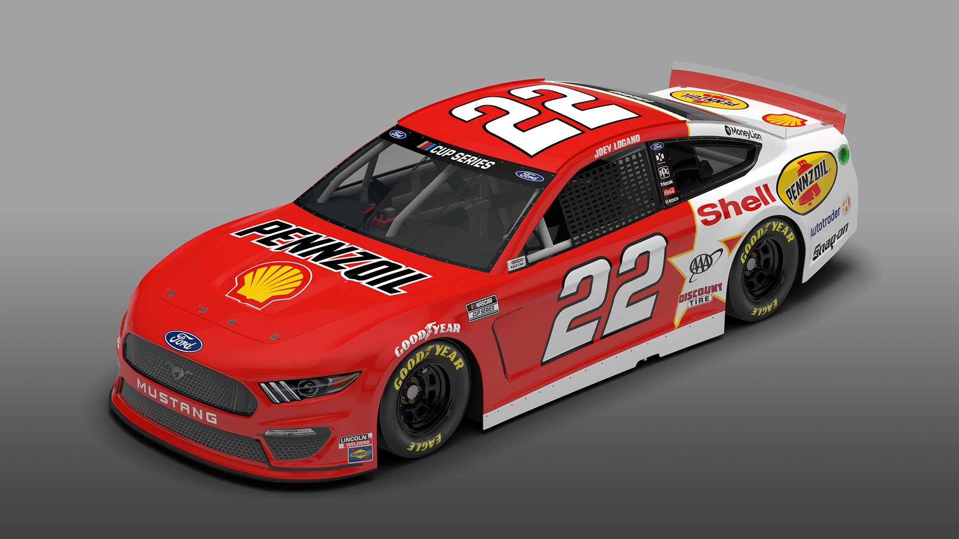 22 Pennzoil Throwback