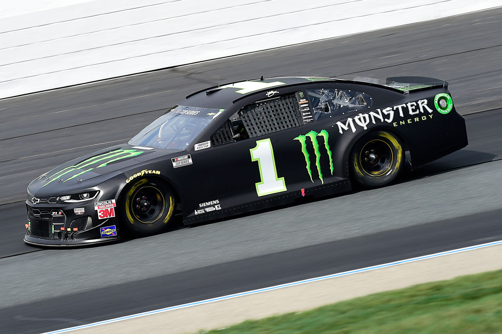 LOUDON, NEW HAMPSHIRE - AUGUST 02: Kurt Busch, driver of the #1 Monster Energy Chevrolet, drives during the NASCAR Cup Series Foxwoods Resort Casino 301 at New Hampshire Motor Speedway on August 02, 2020 in Loudon, New Hampshire. (Photo by Jared C. Tilton/Getty Images) | Getty Images
