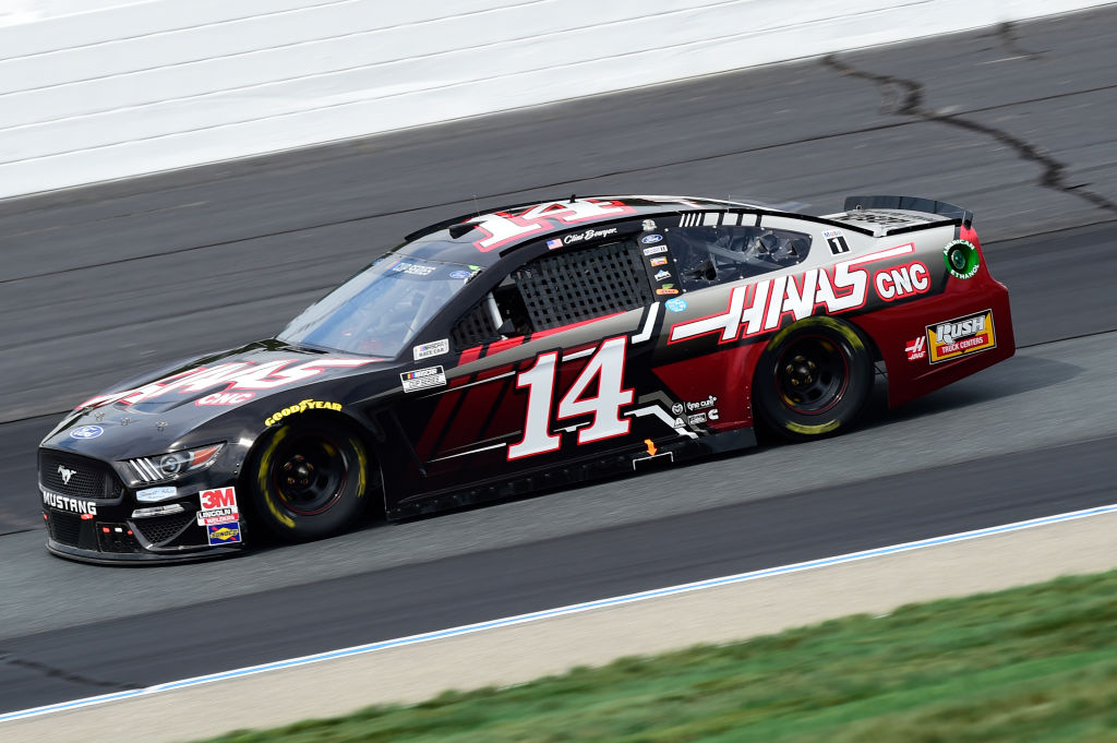 LOUDON, NEW HAMPSHIRE - AUGUST 02: Clint Bowyer, driver of the #14 Haas Automation Ford, drives during the NASCAR Cup Series Foxwoods Resort Casino 301 at New Hampshire Motor Speedway on August 02, 2020 in Loudon, New Hampshire. (Photo by Jared C. Tilton/Getty Images) | Getty Images