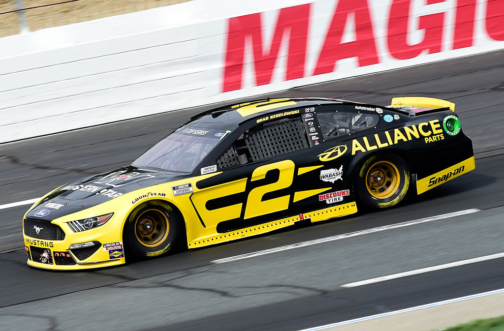 LOUDON, NEW HAMPSHIRE - AUGUST 02: Brad Keselowski, driver of the #2 Western Star/Alliance Parts Ford, drives during the NASCAR Cup Series Foxwoods Resort Casino 301 at New Hampshire Motor Speedway on August 02, 2020 in Loudon, New Hampshire. (Photo by Jared C. Tilton/Getty Images) | Getty Images