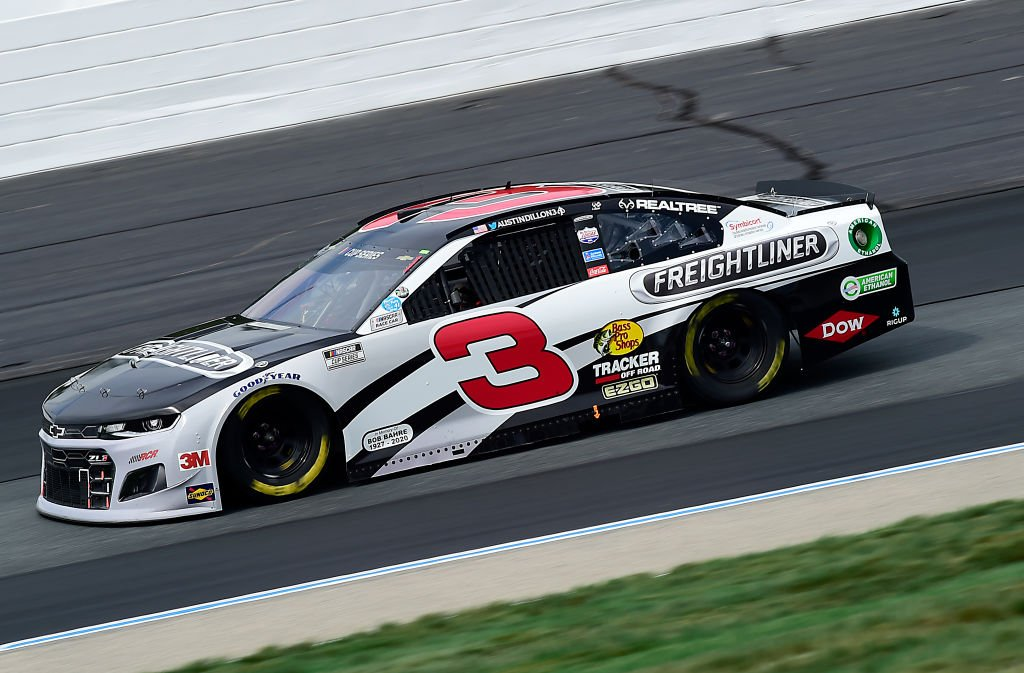 LOUDON, NEW HAMPSHIRE - AUGUST 02: Austin Dillon, driver of the #3 Freightliner Chevrolet, drives during the NASCAR Cup Series Foxwoods Resort Casino 301 at New Hampshire Motor Speedway on August 02, 2020 in Loudon, New Hampshire. (Photo by Jared C. Tilton/Getty Images) | Getty Images