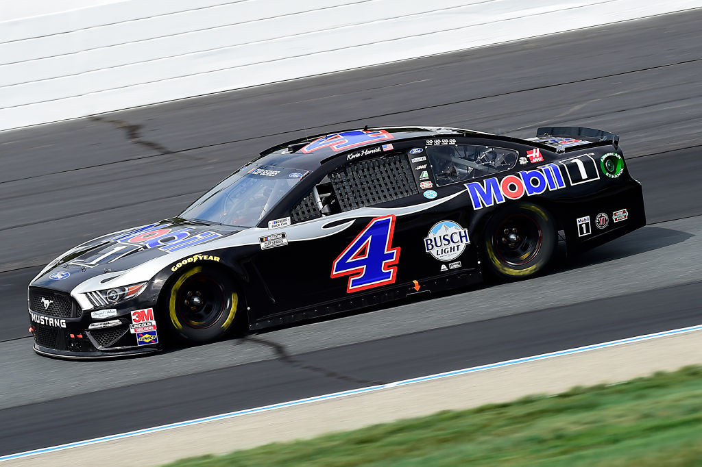 LOUDON, NEW HAMPSHIRE - AUGUST 02: Kevin Harvick, driver of the #4 Mobil 1 Ford, drives during the NASCAR Cup Series Foxwoods Resort Casino 301 at New Hampshire Motor Speedway on August 02, 2020 in Loudon, New Hampshire. (Photo by Jared C. Tilton/Getty Images) | Getty Images