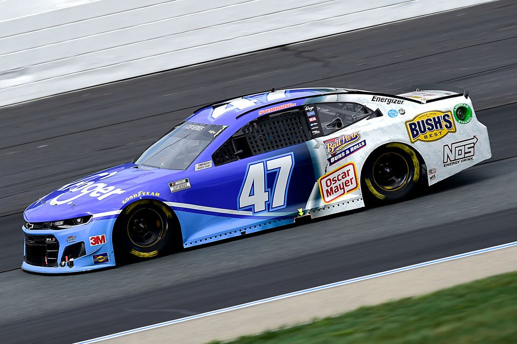 LOUDON, NEW HAMPSHIRE - AUGUST 02: Ricky Stenhouse Jr., driver of the #47 Kroger Chevrolet, drives during the NASCAR Cup Series Foxwoods Resort Casino 301 at New Hampshire Motor Speedway on August 02, 2020 in Loudon, New Hampshire. (Photo by Jared C. Tilton/Getty Images) | Getty Images