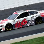 LOUDON, NEW HAMPSHIRE - AUGUST 02: Ryan Newman, driver of the #6 Guaranteed Rate Ford, drives during the NASCAR Cup Series Foxwoods Resort Casino 301 at New Hampshire Motor Speedway on August 02, 2020 in Loudon, New Hampshire. (Photo by Jared C. Tilton/Getty Images) | Getty Images