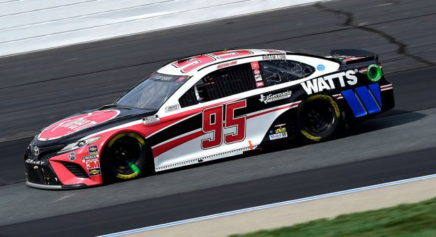 LOUDON, NEW HAMPSHIRE - AUGUST 02: Christopher Bell, driver of the #95 Rheem/Watts Toyota, drives during the NASCAR Cup Series Foxwoods Resort Casino 301 at New Hampshire Motor Speedway on August 02, 2020 in Loudon, New Hampshire. (Photo by Jared C. Tilton/Getty Images) | Getty Images