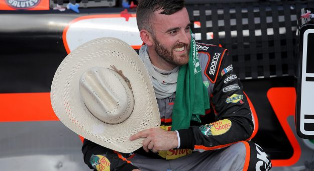 FORT WORTH, TEXAS - JULY 19: Austin Dillon, driver of the #3 Bass Pro Shops Chevrolet, celebrates in Victory Lane after winning the NASCAR Cup Series O'Reilly Auto Parts 500 at Texas Motor Speedway on July 19, 2020 in Fort Worth, Texas. (Photo by Chris Graythen/Getty Images) | Getty Images