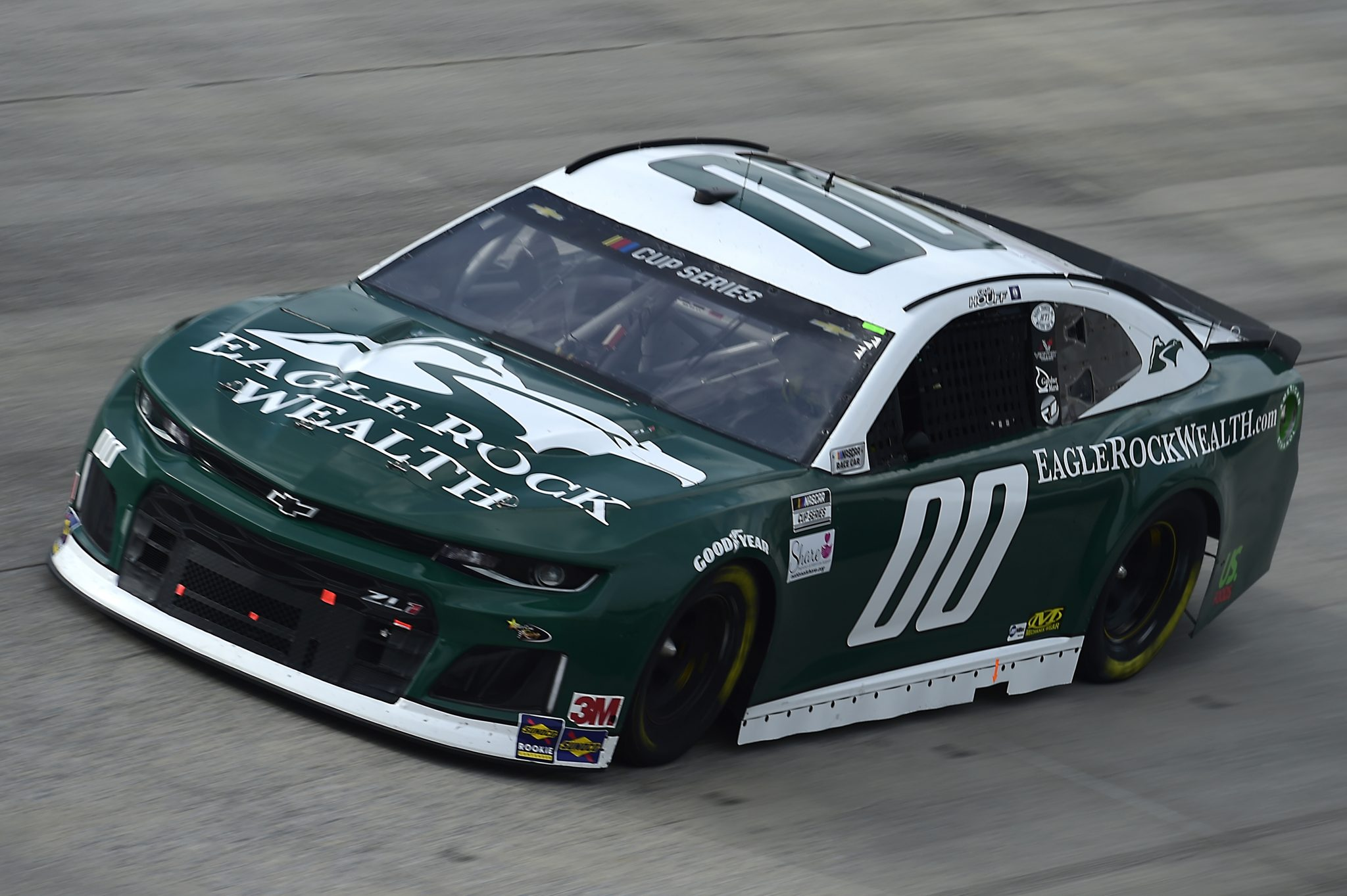 DOVER, DELAWARE - AUGUST 22: Quin Houff, driver of the #00 Eagle Rock Wealth Chevrolet, drives during the NASCAR Cup Series Drydene 311 at Dover International Speedway on August 22, 2020 in Dover, Delaware. (Photo by Jared C. Tilton/Getty Images) | Getty Images