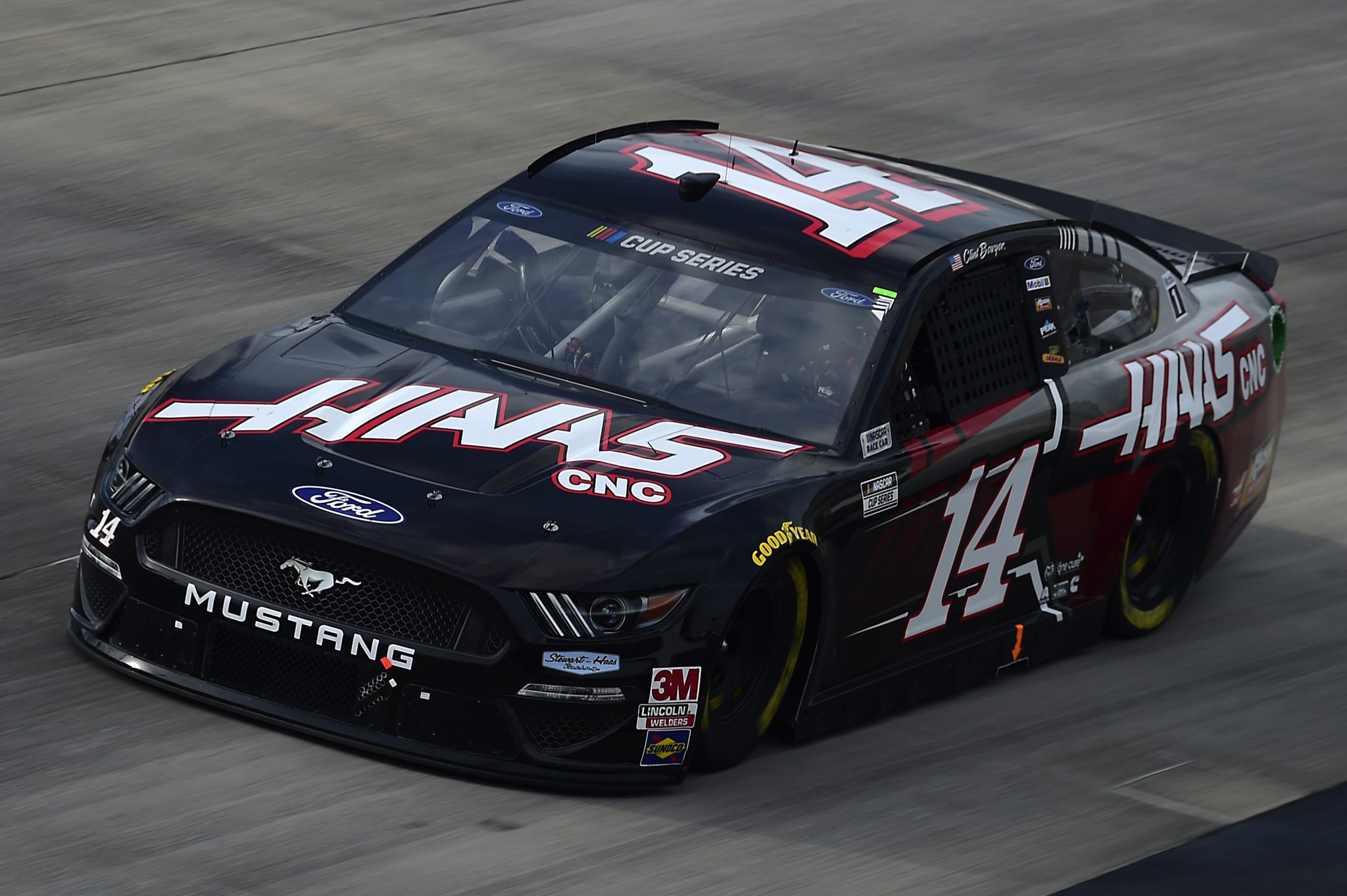 DOVER, DELAWARE - AUGUST 22: Clint Bowyer, driver of the #14 Haas Automation Ford, drives during the NASCAR Cup Series Drydene 311 at Dover International Speedway on August 22, 2020 in Dover, Delaware. (Photo by Jared C. Tilton/Getty Images) | Getty Images