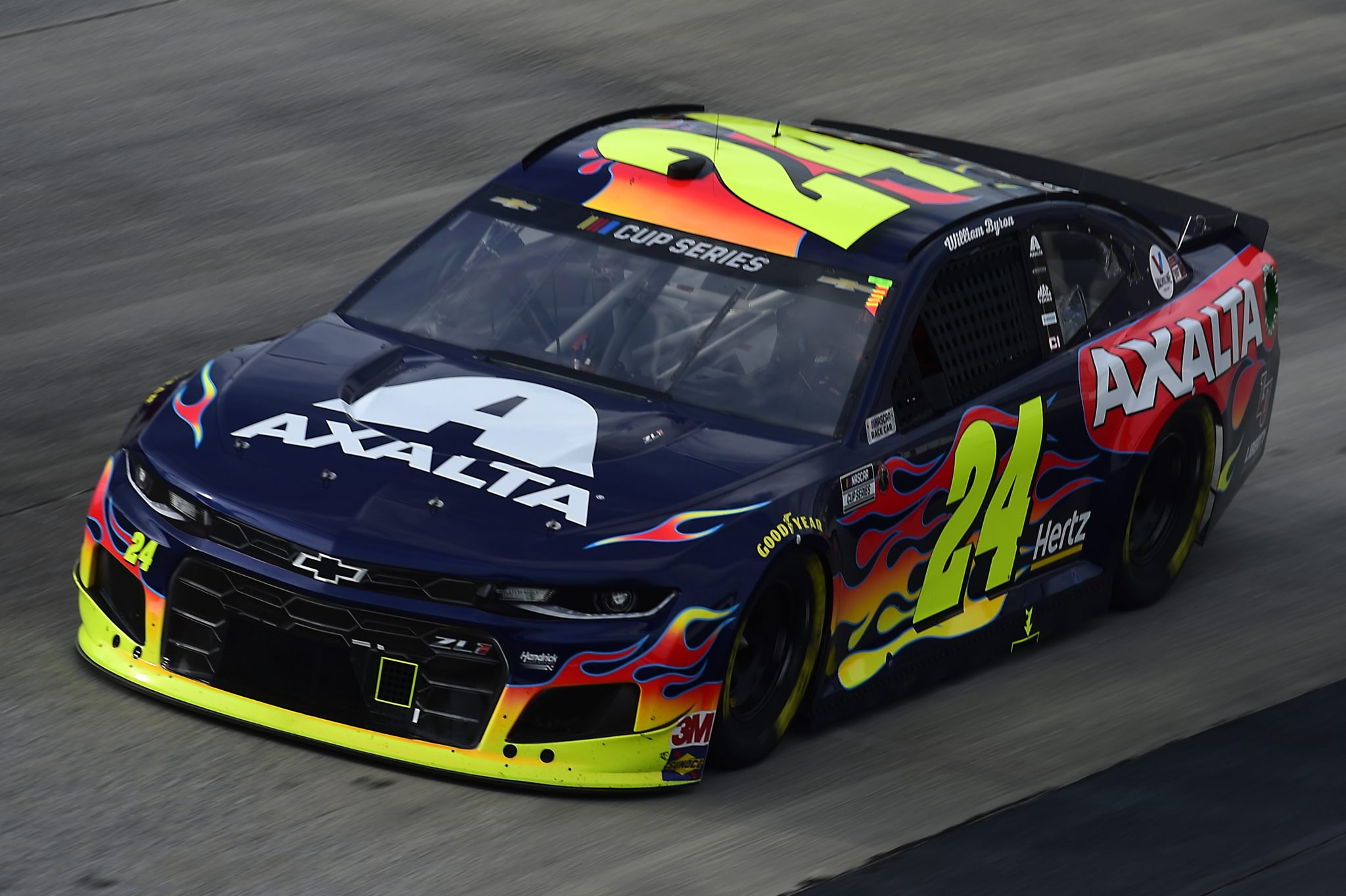 DOVER, DELAWARE - AUGUST 22: William Byron, driver of the #24 Axalta Chevrolet, drives during the NASCAR Cup Series Drydene 311 at Dover International Speedway on August 22, 2020 in Dover, Delaware. (Photo by Jared C. Tilton/Getty Images) | Getty Images