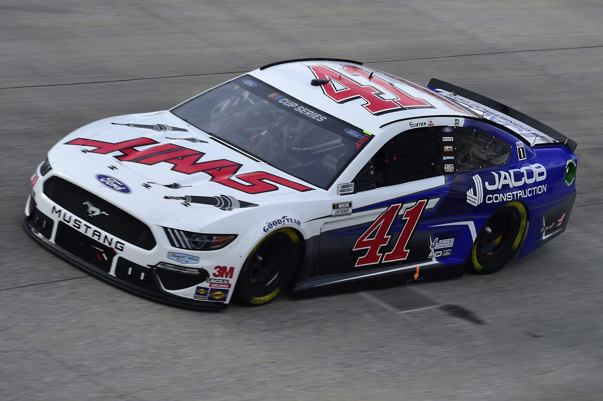 DOVER, DELAWARE - AUGUST 22: Cole Custer, driver of the #41 HaasTooling.com/Jacom Co Ford, drives during the NASCAR Cup Series Drydene 311 at Dover International Speedway on August 22, 2020 in Dover, Delaware. (Photo by Jared C. Tilton/Getty Images) | Getty Images