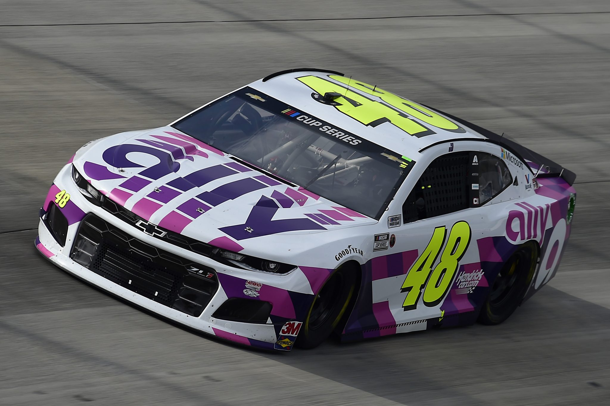 DOVER, DELAWARE - AUGUST 22: Jimmie Johnson, driver of the #48 Ally Chevrolet, drives during the NASCAR Cup Series Drydene 311 at Dover International Speedway on August 22, 2020 in Dover, Delaware. (Photo by Jared C. Tilton/Getty Images) | Getty Images
