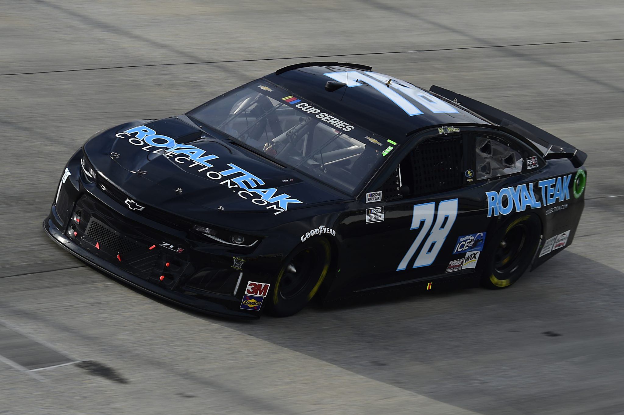 DOVER, DELAWARE - AUGUST 22: BJ McLeod, driver of the #78 Chevrolet, drives during the NASCAR Cup Series Drydene 311 at Dover International Speedway on August 22, 2020 in Dover, Delaware. (Photo by Jared C. Tilton/Getty Images) | Getty Images